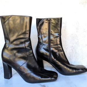 Nine West Black Boots Women's Size 7
